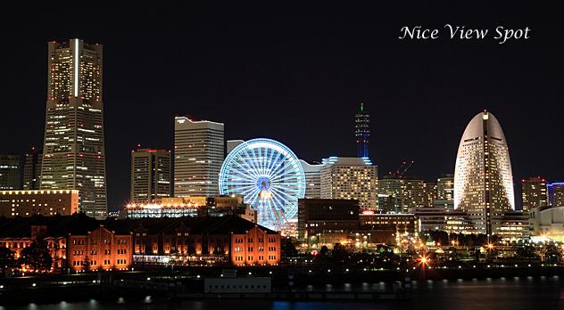Nice View Spot/みなとみらいの美夜景を船上から