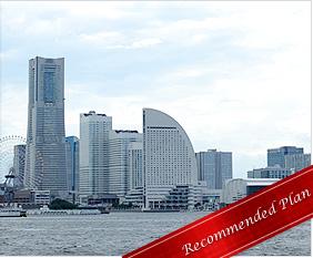 横浜・みなとみらいを船上観光