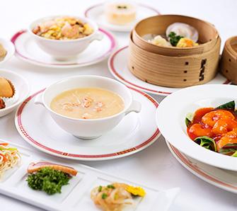 ディナー飲茶コース:料理イメージ